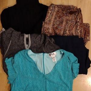 Plus Size Clothing Bundle Size 2x Women's Cloths